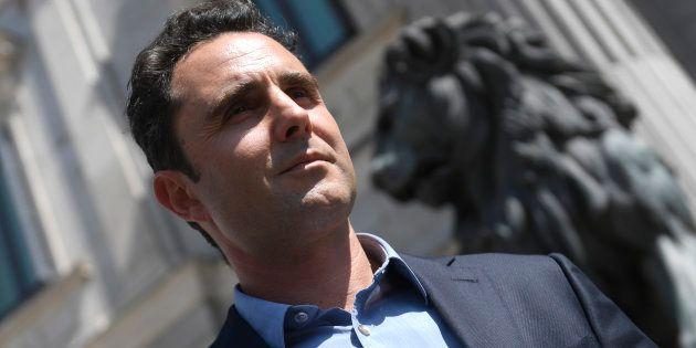Hervé Falciani, frente al Congreso, en una imagen de