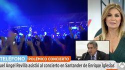 Revilla critica a Enrique Iglesias por su concierto en Santander: