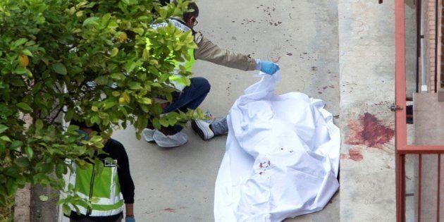 Agencias de policía examinan el cuerpo de la