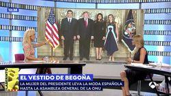 Carmen Lomana en 'Espejo Público' sobre el vestido de la mujer de Pedro Sánchez:
