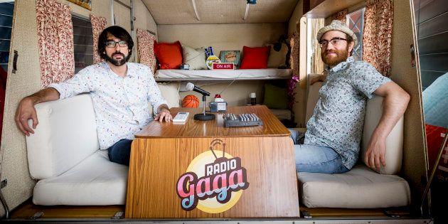 Quique Peinado (izquierda) y Manuel Burque, conductores de 'Radio