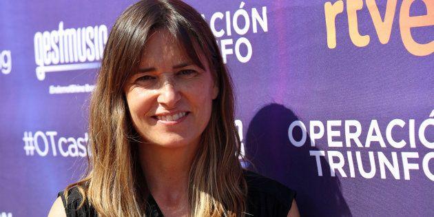 Noemí Galera, durante el 'casting' de 'Operación Triunfo' en Barcelona el 14 de junio de
