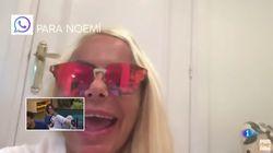 Leticia Sabater se cuela en 'El Chat' de OT después de que Noemí Galera la llamara