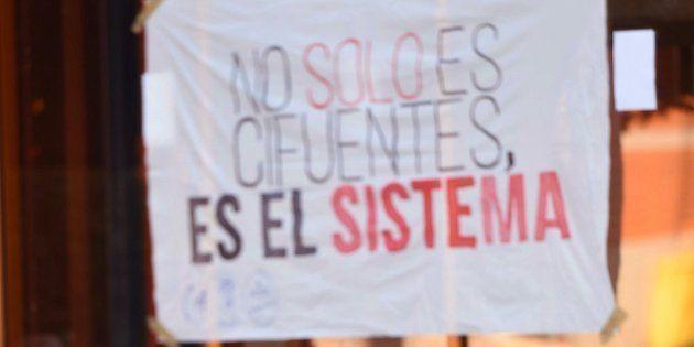 Huelga de estudiantes en la Universidad Rey Juan Carlos: