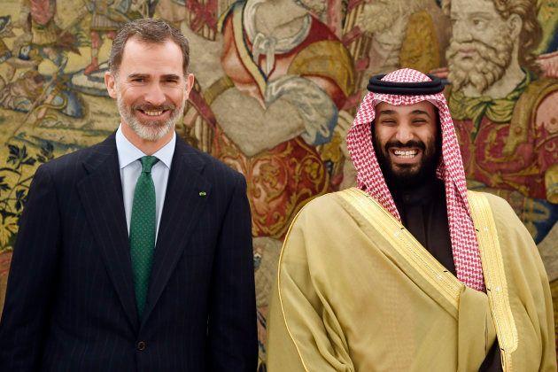 MBS con el Rey Felipe