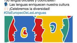 Críticas a Ciudadanos por este tuit sobre las lenguas