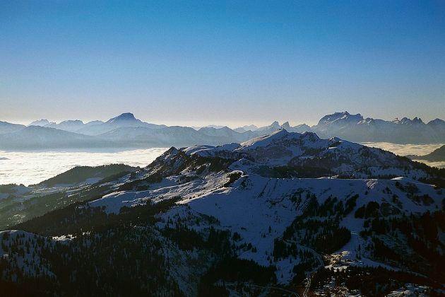 Los Alpes desde Les