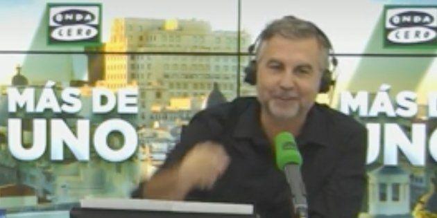 La pregunta de Carlos Alsina ('Más de Uno') al PP sobre Villarejo y las