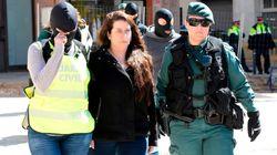 El juez deja en libertad a la detenida de los CDR al no ver