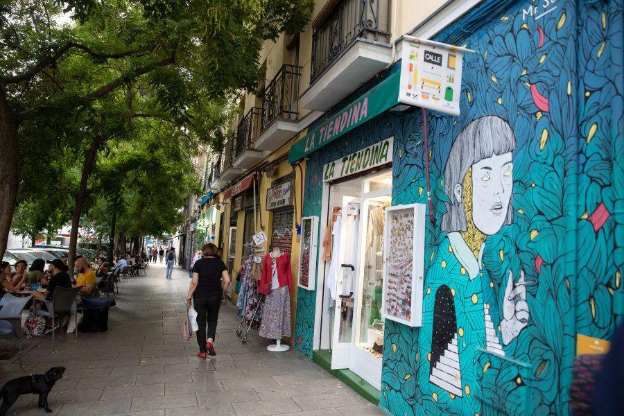 Un paseo por Embajadores, el barrio más 'cool' del