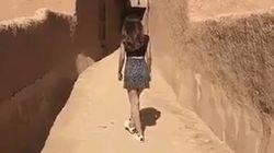 Detenida una mujer que se filmó paseando en minifalda en Arabia