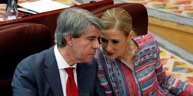 Ángel Garrido y Cristina