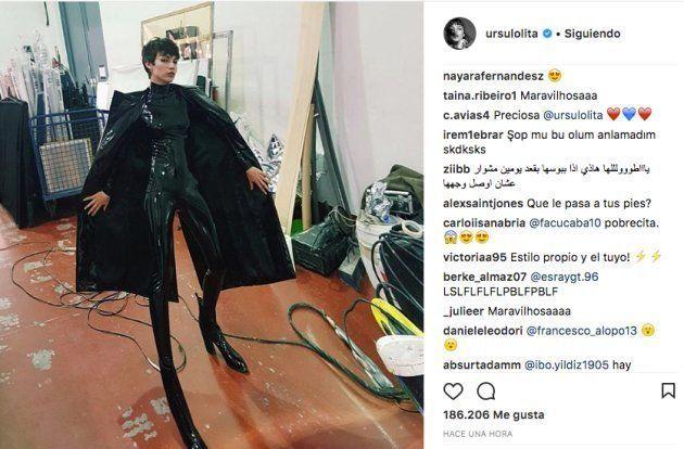 El extraño disfraz de Úrsula Corberó que más comentarios está