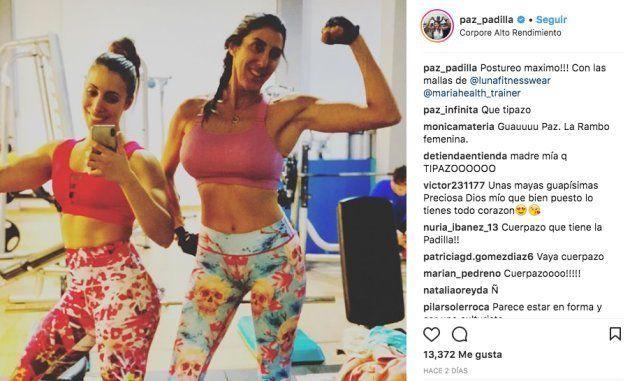 Paz Padilla revoluciona las redes con una foto en el