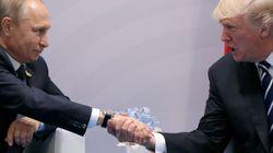 Trump y Putin mantuvieron un segundo encuentro durante la cumbre del