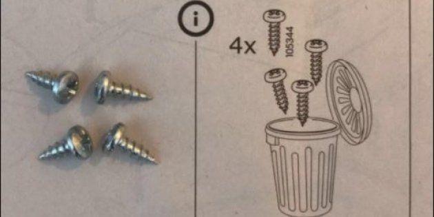 El último paso de estas instrucciones de Ikea ha dejado perplejo a su
