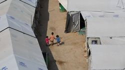 Los niños refugiados en Grecia viven una situación