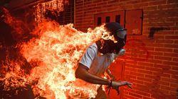 El joven en llamas, la historia detrás de la foto del año del World Press