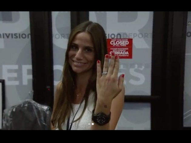Shaquille O'Neal le pide matrimonio a Lucía