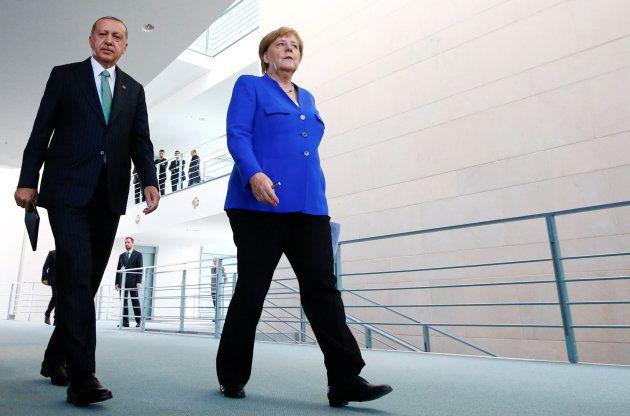Erdogan y Merkel este viernes en