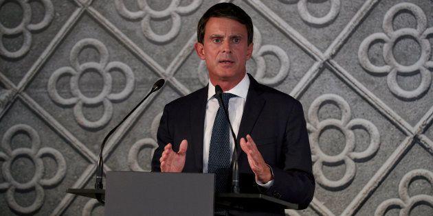 El exprimer ministro francés Manuel Valls anuncia su candidatura a la alcaldía de