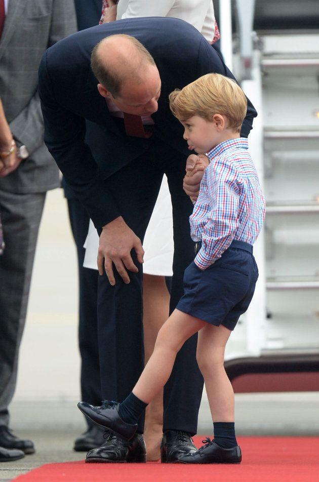 Se agotan las existencias de la camisa española del príncipe Jorge, de 12,95