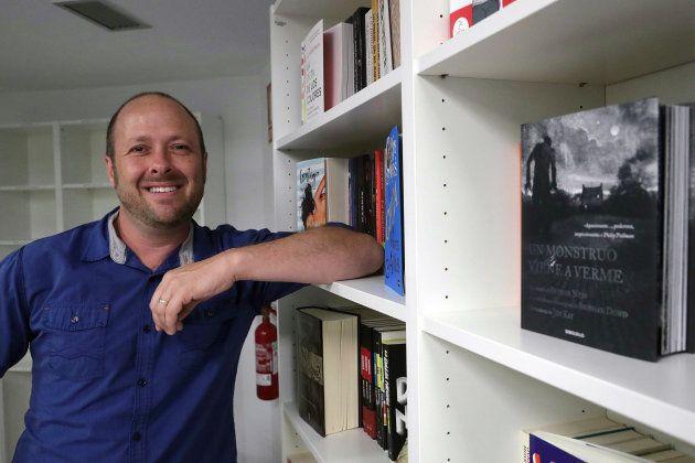 El autor Jay Asher durante su visita a Madrid en julio de