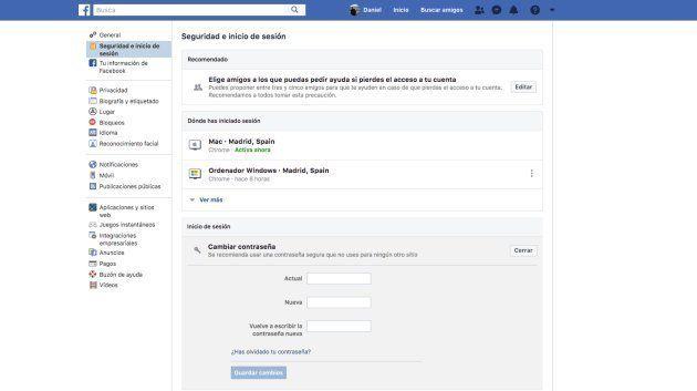 Cómo saber si tu cuenta de Facebook ha sido afectada por el fallo de seguridad y cómo cambiar tu