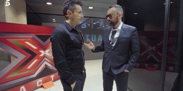 Jesús Vázquez y Risto Mejide firman la paz después de nueve años sin