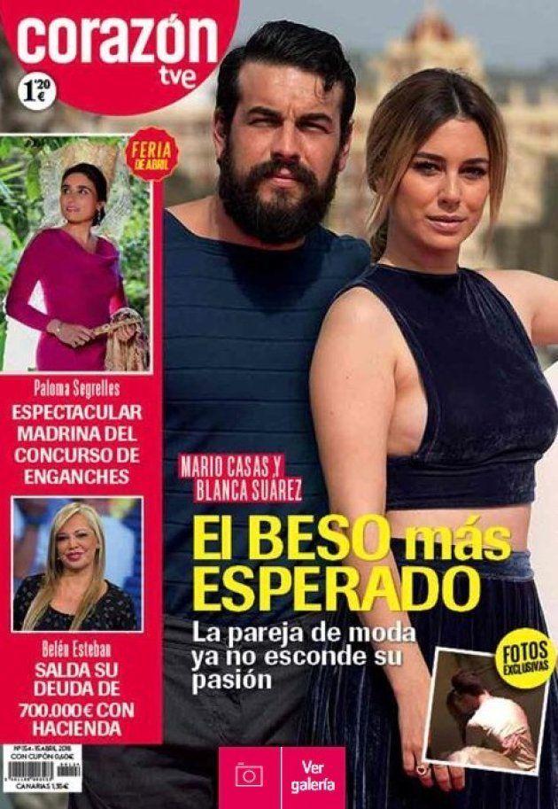La foto que confirma la relación entre Blanca Suárez y Mario