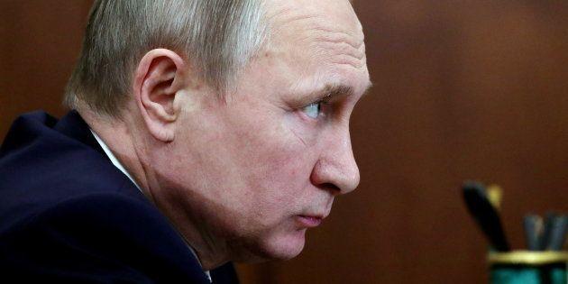 El presidente de Rusia, Vladimir Putin, en