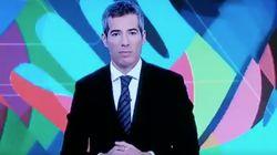 El presentador del 'Telediario' de TVE sorprende por lo que ha hecho en pleno