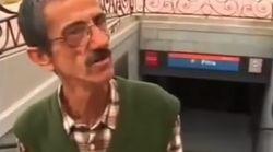 La imagen de Ramón 'El Vanidoso' viajando en Metro que revoluciona las