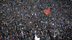 """Miles de manifestantes reclaman """"justicia"""" para los procesados de"""