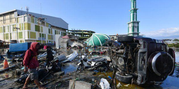 Daños causados por el terremoto en