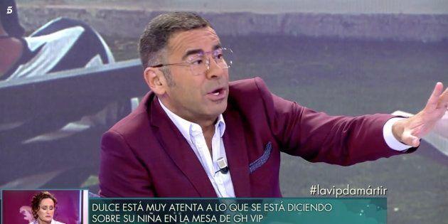 Jorge Javier Vázquez reprende a Rafa Mora en 'Sábado Deluxe':
