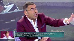 Jorge Javier Vázquez reprende a Rafa Mora: