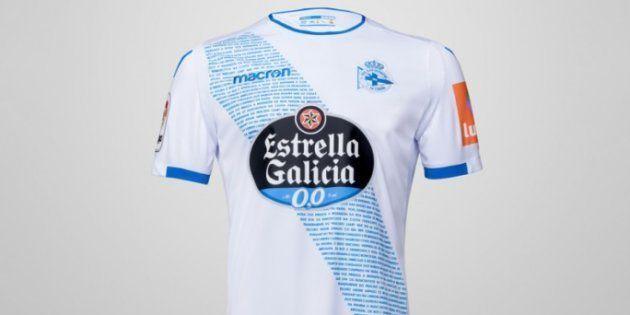 Estupefacción por lo que recibió al pedir la camiseta del Deportivo de la Coruña por