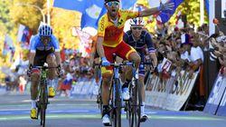 Alejandro Valverde, campeón del Mundo de ciclismo en