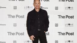 Cachondeo con el parecido razonable de Tom Hanks en una foto de su próxima