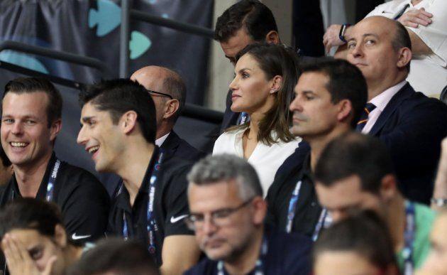 El detalle que más ha llamado la atención de la reina Letizia en el partido de baloncesto
