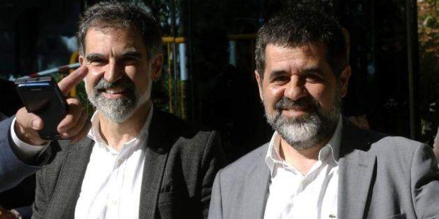 El juez Llarena comunica este lunes el procesamiento a Sànchez, Junqueras y Cuixart por