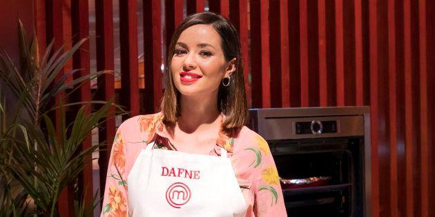 Dafne Fernández, en 'MasterChef Celebrity