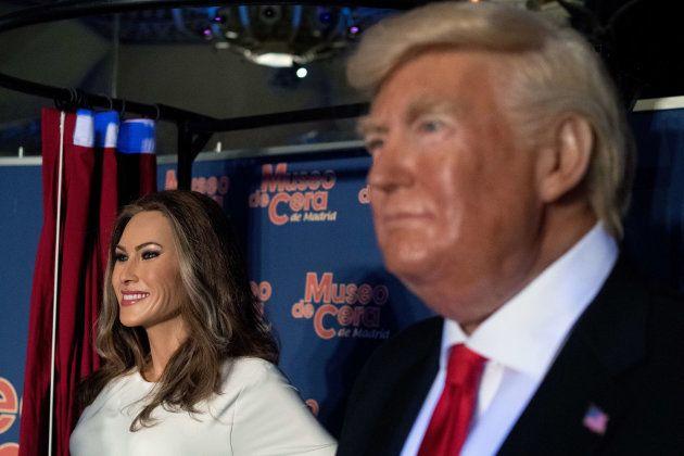 Melania Trump en el Museo de Cera: ¿qué te parece la