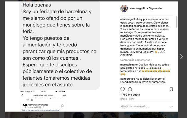 'El Monaguillo', colaborador de 'El Hormiguero', amenazado por uno de sus
