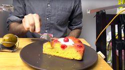 Nunca servir una tarta de queso fue tan
