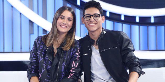 Sabela y Alfonso, nominados tras la gala 1 de 'OT