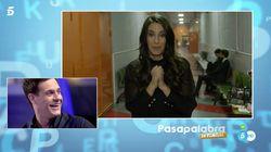 Almudena Cid le da una romántica sorpresa a Christian Gálvez en el nuevo