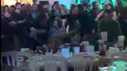 Brutal pelea en la caseta de CCOO en la Feria de Abril de