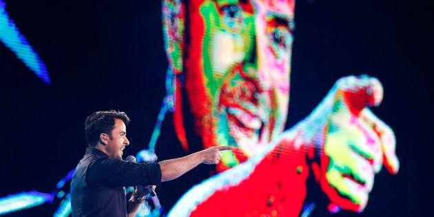 Luis Fonsi en una actuación en el Festival de Viña del Mar, en Chile, en febrero de